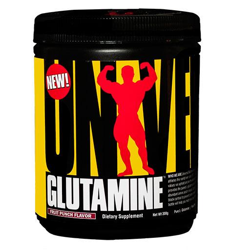 Glutamine Powder By Universal Nutrition, Fruit Punch, 300 Grams
