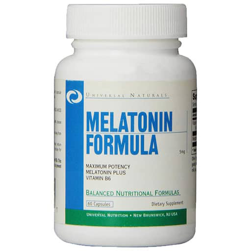 Melatonin By Universal Nutrition, 5 mg 60 Caps