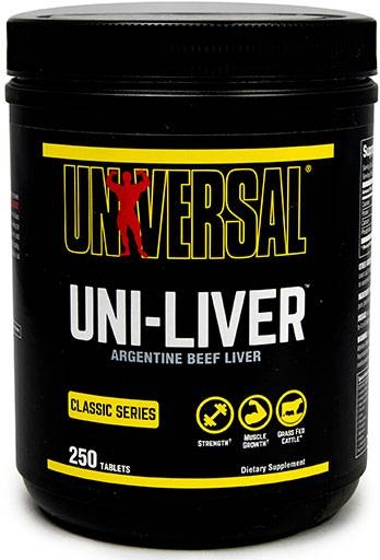 Uni-Liver by Universal Nutrition, 250 Tabs