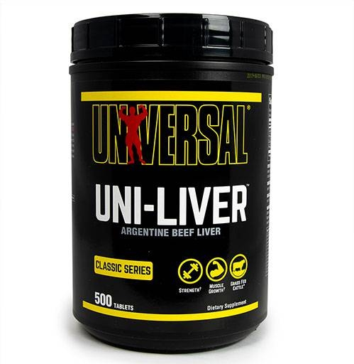 Uni-Liver by Universal Nutrition, 500 Tabs