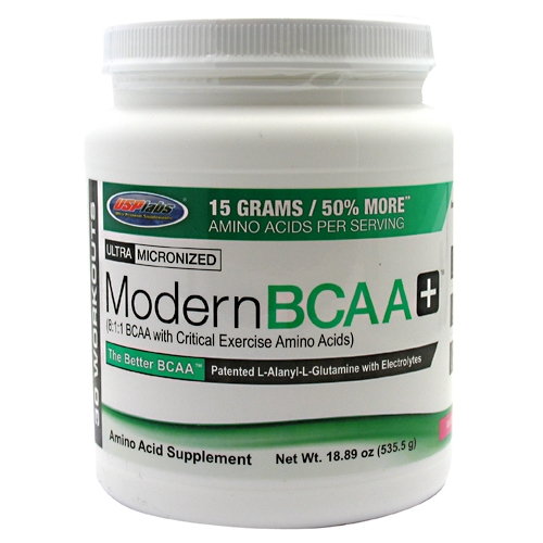 Modern BCAA Plus By USP Labs, Watermelon 30 Servings