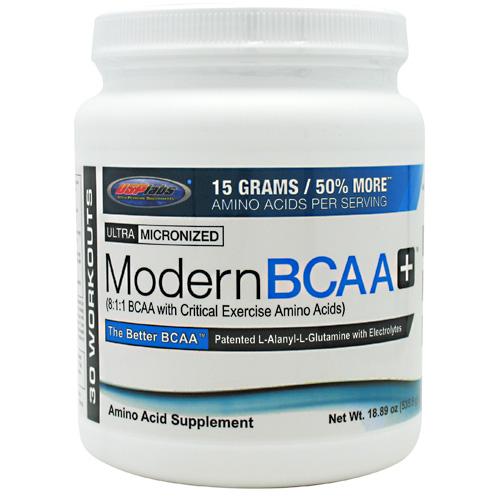 Modern BCAA Plus By USP Labs, Grape Bubblegum 30 Servings