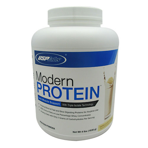 Modern Protein, By USP Labs, Vanilla Ice Cream, 54 Servings