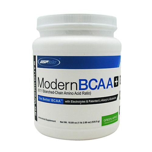 Modern BCAA Plus, By USP Labs, Green Apple, 30 Servings