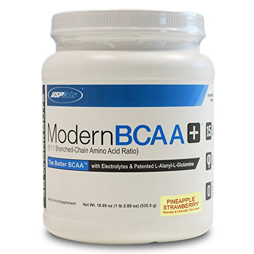 Modern BCAA Plus By USP Labs, Pineapple Strawberry, 30 Servings