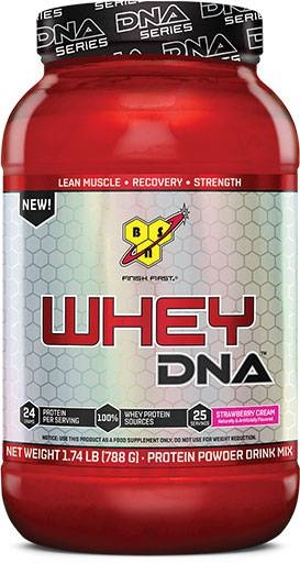 Whey DNA Protein By BSN, Strawberry 25 Servings