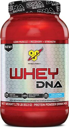 Whey DNA Protein By BSN, Vanilla Ice Cream 25 Servings