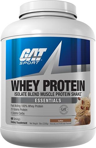 GAT Whey Protein, Essentials Series, Coffee, 5lb