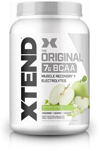 Xtend BCAA By Scivation, Green Apple Explosion, 90 Servings