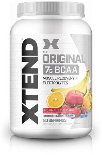 Xtend BCAA By Scivation, Fruit Punch 90 Servings