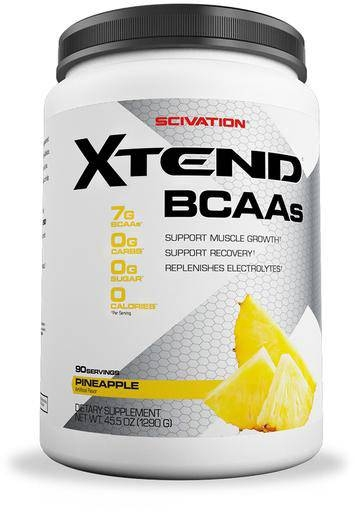 Xtend BCAA By Scivation, Pineapple 90 Servings