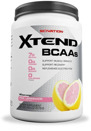 Xtend BCAA By Scivation, Pink Lemonade 90 Servings