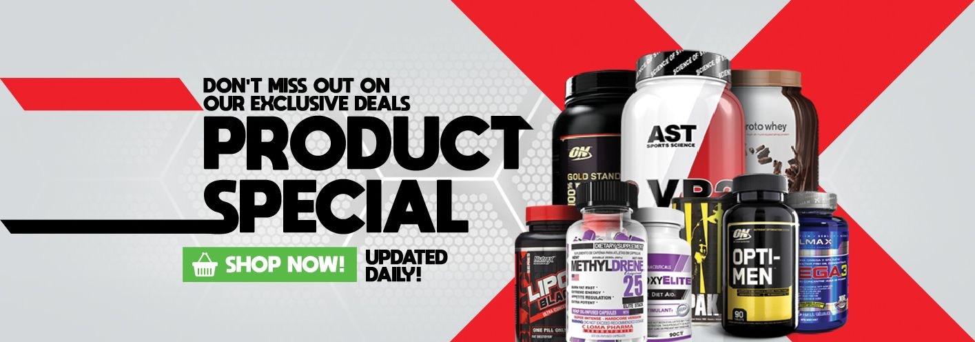 Supplement Deals & Specials